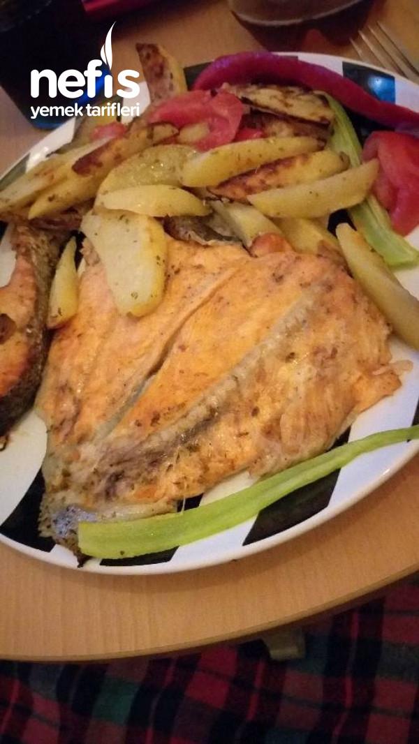 Fırında Somon Balık