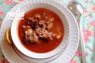 Kelle Paça Çorbası (Adana Usulü) Tarifi