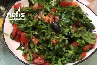 Lokanta Usulü Roka Salatası Tarifi
