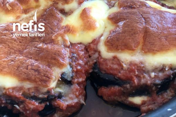 Melanzane Alla Parmigianna (Parmesanlı Patlıcan) Tarifi