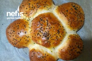 Nefis Mi Nefis Çiçek Ekmek Tarifi