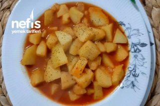 Patates Sulusu (Tek Ana Malzemeli Şahane Patates Yemeği) Tarifi