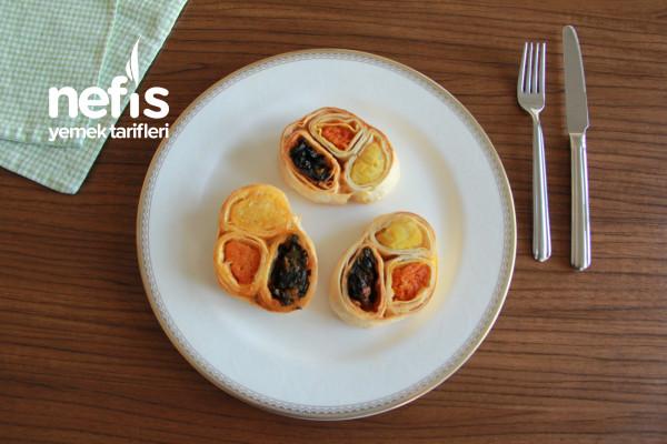 Üç Renkli Suşi Börek (Videolu)