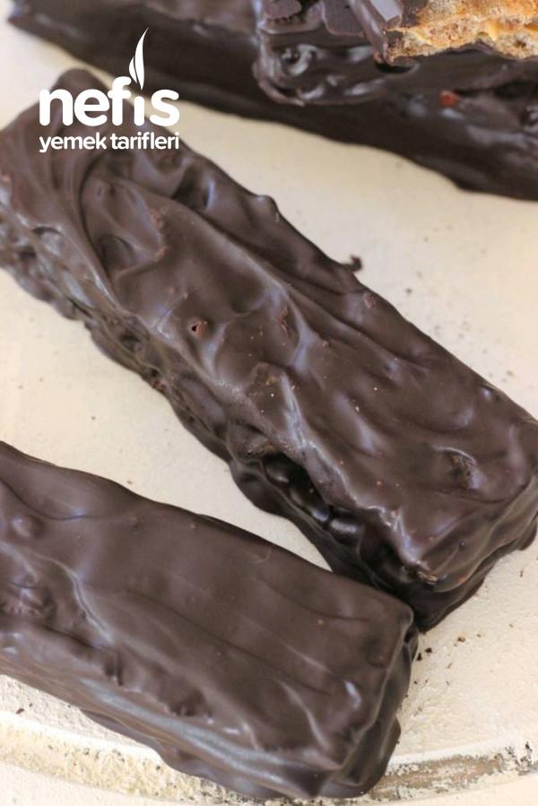 Evde Çikolatalı Gofret (3 Malzemeli)