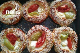 Görseli Şahane Pizza Poğaça Tarifi