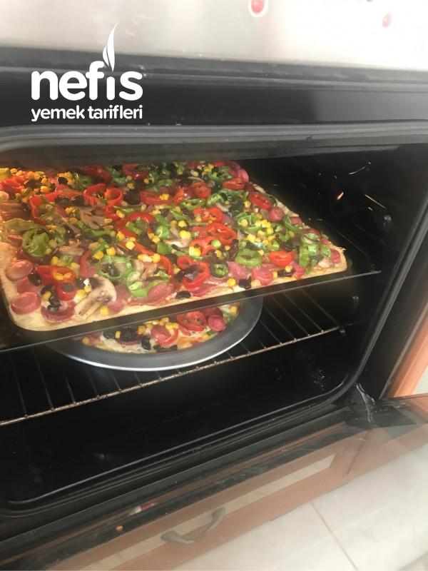 Kolay Pizza (Mayasiz)