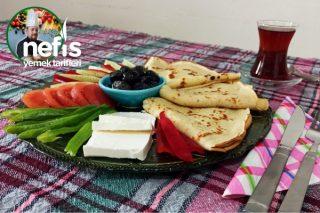 Tam Ölçülü Garantili Kahvaltılık Krep Tarifi (#evdekal Serisinden Videolu)
