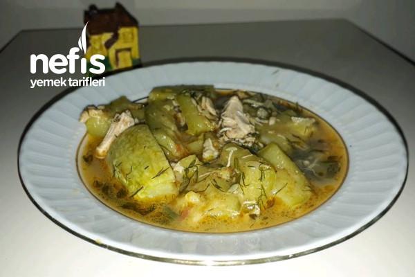 Tavuk Sulu Kabak Yemeği Tarifi