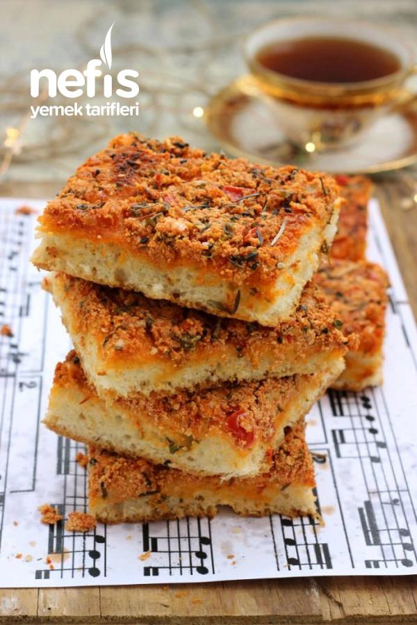 Biberli Ekmek (Hatay'ın En Sevilen Ekmeği)
