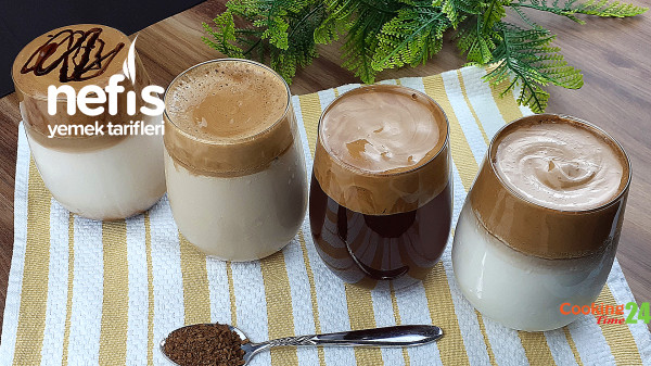 Dalgona Kahve – 4 Kolay Tarif (Videolu)