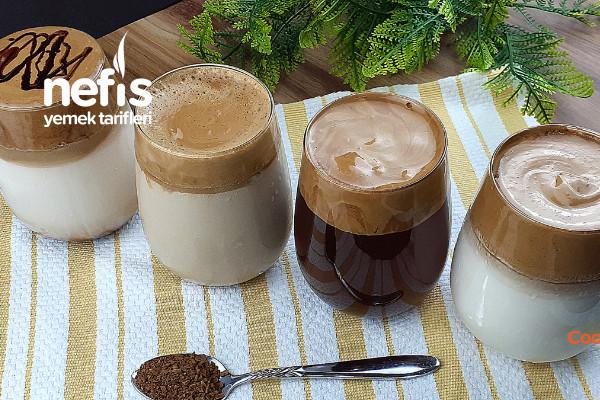 Dalgona Kahve 4 Kolay Tarif (Videolu)