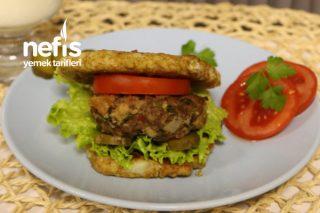 Kalorisi Düşük Sağlıklı Hamburger Tarifi