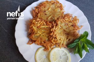 Patates Mücveri (Kartoffel Puffer) Tarifi