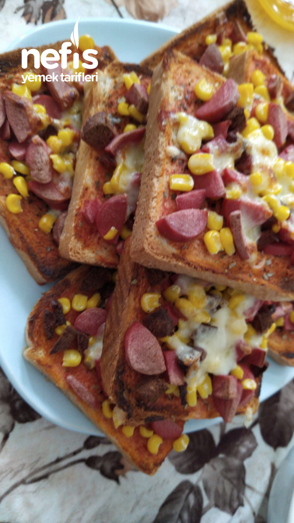 pratik kahvaltılık pizza