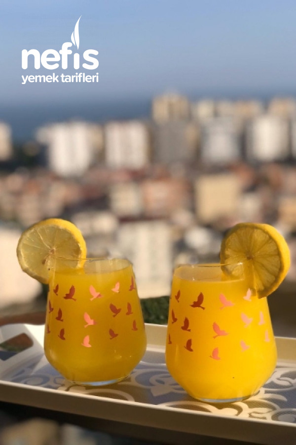 2 Portakal 1 Limondan 3 Litre Limonata
