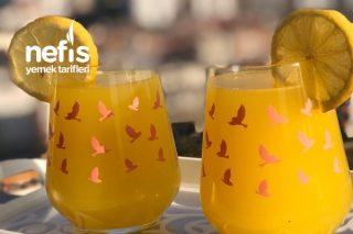 2 Portakal 1 Limondan 3 Litre Limonata Tarifi