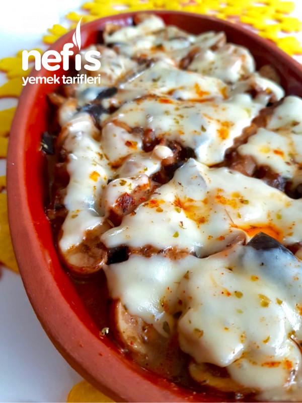 Fırın Mantar (Patlıcanlı)