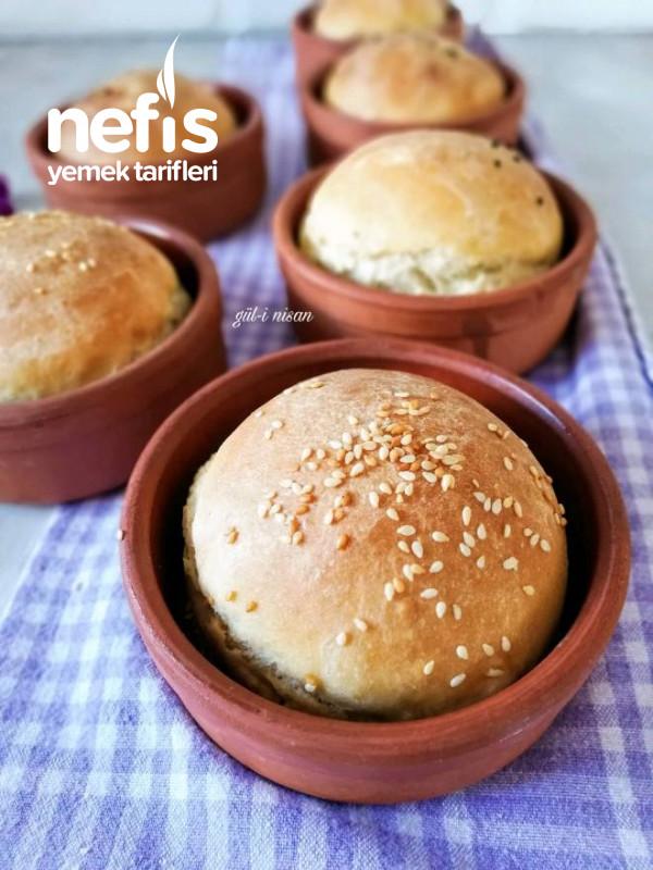 Güveçte Ekmek (Kolay Şekil Vermek İçin)
