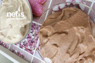 Kakaolu ve Sade Dondurma (Sağlıklı 5 Dakikada Hazır) Tarifi