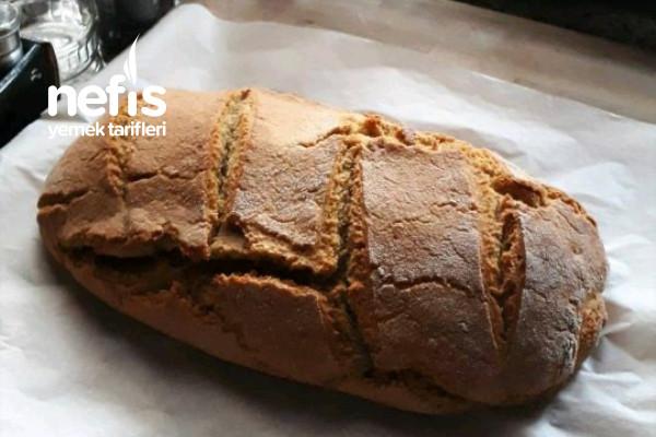 Nohut Unlu Ekmek (Ekşi Mayalı) Tarifi
