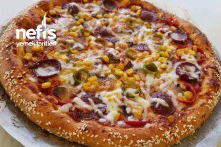 Pizza Tarifi ( Dolgu Kenarlı )