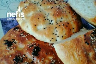 Ramazan Pidesi Şeklinde Ekmek Tarifi