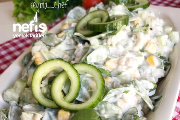 Yarmalı Semizotu Salatası Tarifi