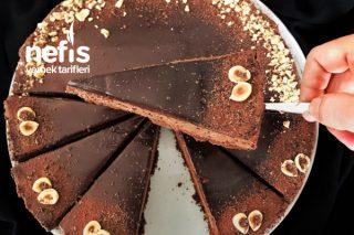 Çikolotalı Pişmeyen Cheesecake Tarifi