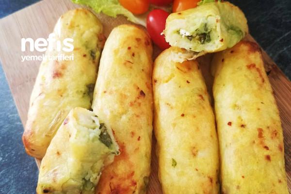 Ispanaklı Baton Patates Tarifi