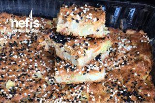 Patates Havuç Pırasalı Kek (Fit) Tarifi