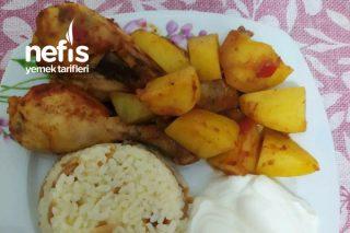 Fırın Poşetinde Patates İle Baget Tarifi