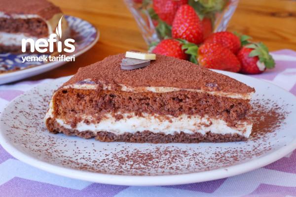 Hazır Kek İle Tiramisu Tarifi (videolu)