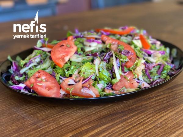 Lokanta Usulü Salata
