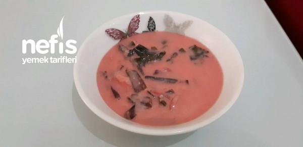 Pembe Çorba (Tarif Bana Ait)