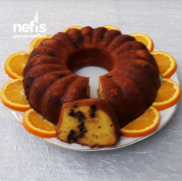 Portakalli Cikolatali Kek