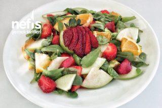 Semizotlu Meyve Salatası Tarifi