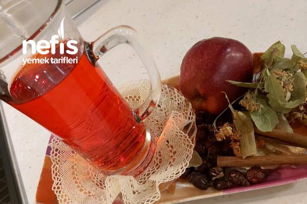 Şifa  Çayı (Soğuk Algınlığı Grip ve Nezle İçin İksir Çay) Tarifi