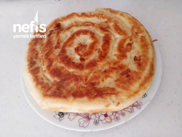 Tavada Patatesli Rulo Börek