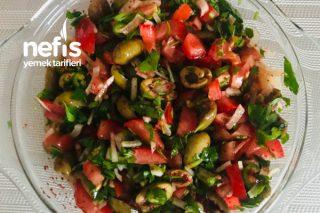 Zeytin Salatası Tarifi