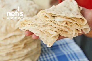 Aylarca Bayatlamayan Mayasız Yufka Ekmek (videolu) Tarifi