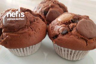 Bol Çikolatalı Fındıklı Muffin Tarifi
