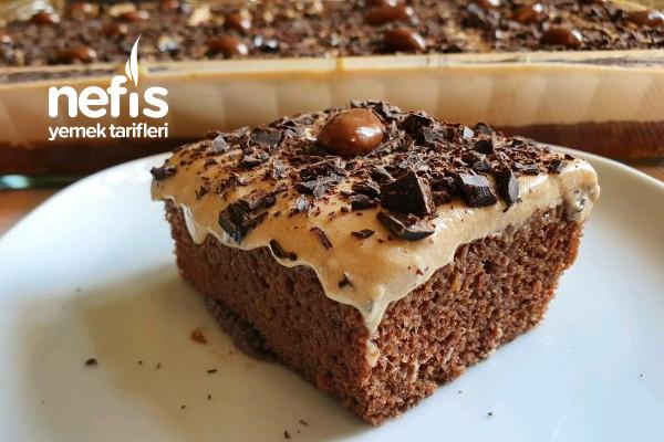 Kahveli Borcam Pastası (videolu) Tarifi