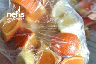 Limonata İçin Kıştan Hazırlık Tarifi