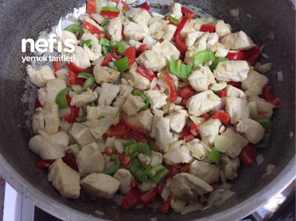 Patates Püreli Fırında Tavuk