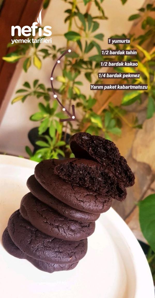 Şekersiz Pekmezli Cookie