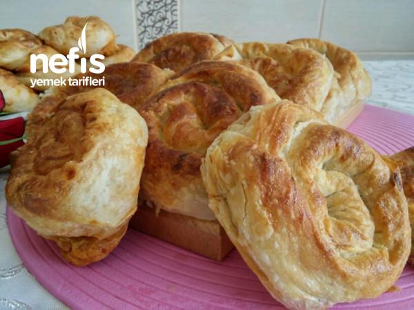 Çıtır Patatesli Gül Böreği