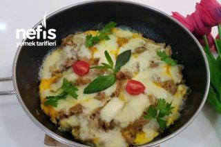 Ekmek Omleti (Yufka Ekmekle) Tarifi