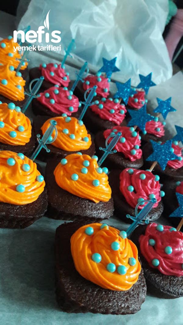 Renkli Muffin