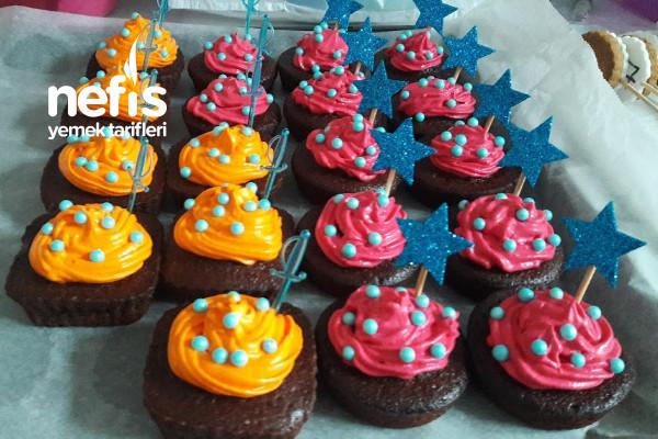 Renkli Muffin Tarifi