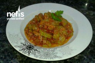 Zeytinyağlı Pirinçli Kabak Yemeği Tarifi